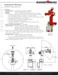 Datasheet - Industrial Spit-Fire Monitor