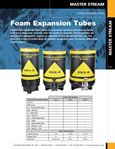 Foam Expansion Tubes (Master Stream)