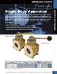 Single Body Apparatus